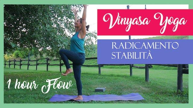 Vinyasa Yoga: radicamento, stabilità