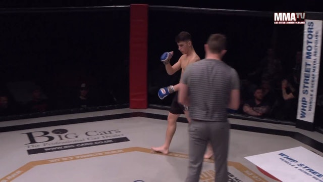 Cage Warriors Academy South East - Jack Eglin vs Jordan Baxter