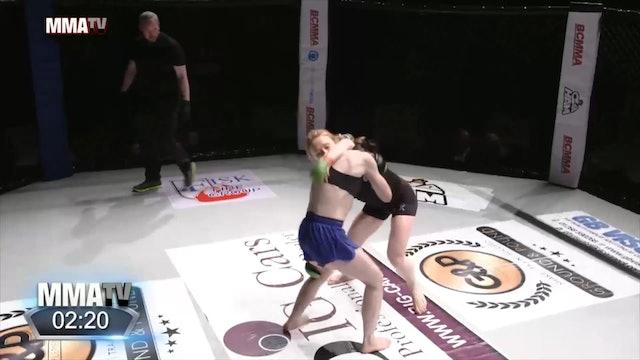 #BCMMA17 - Eivor Hovde Hoff vs Fee Chrystall - 115lbs Pro MMA Contest