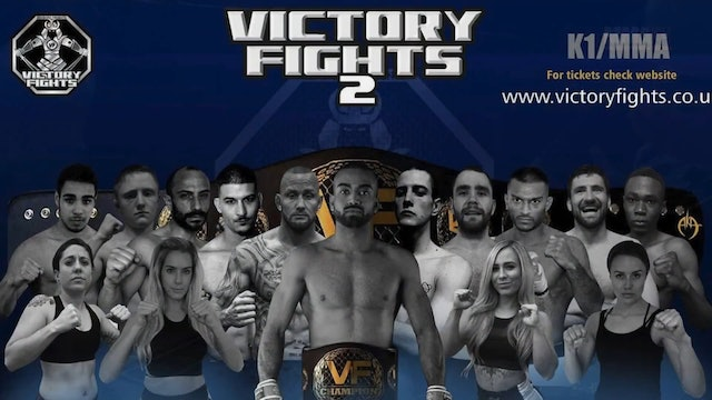 Adam Amarasinghe vs Andrew Mendes -Victory Fights 2 Main Event
