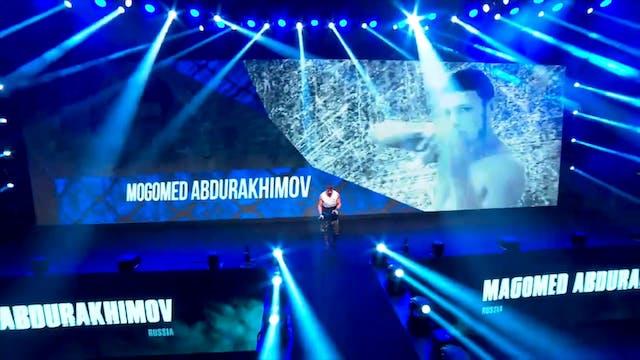 Juares Dea vs Magomed Abdurakhimov UA...