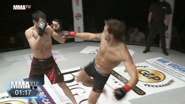 #BCMMA17 - Andreas Lodoen vs Kevin Treny - 170lbs Amateur MMA Contest