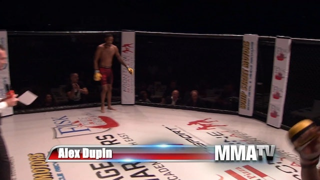 Cage Warriors Academy South East - Himoud vs Dupin