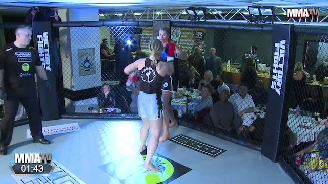 Alexandra Vogt vs. Kate Mowerbanks - Victory Fights, Brighton Sussex
