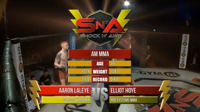 Shock n' Awe 22 Elliot Hoye vs Aaron Laleye