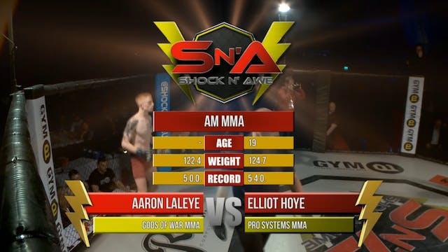 Shock n' Awe 22 Elliot Hoye vs Aaron ...