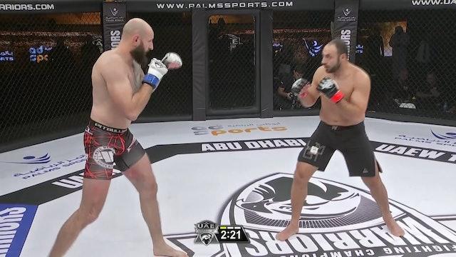 Magic Sosnowski vs Ibrahim El Sawi UAE Warriors 10
