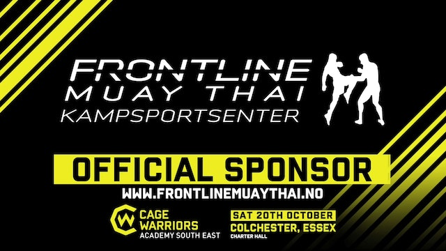 Cage Warriors Academy South East - Bennett vs Iontton