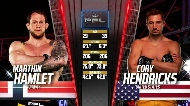 Light heavyweightsMarthin HamletvsCory Hendricks