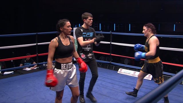 Fight 14: Sarah Smith vs. Natasha Wood