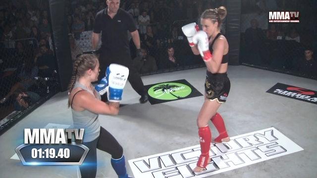 Kerry Newman vs Sammi Marten -Victory Fights