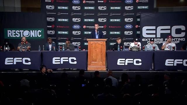 EFC 78: Post Event Press Conference