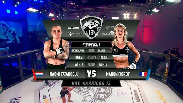 8 UAE Warriors 13 Manon Fiorot vs Nao...