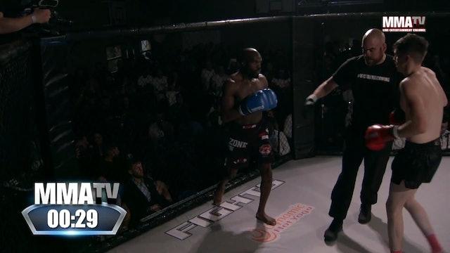 Dom Coleman VS Adetayo Durashola Victory Fights - 3, Brighton Sussex