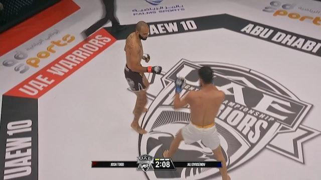 Josh Togo vs  Ali Dyusenov
