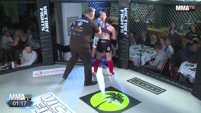 Rachel Levene vs. Ako Murata - Victory Fights, Brighton Sussex