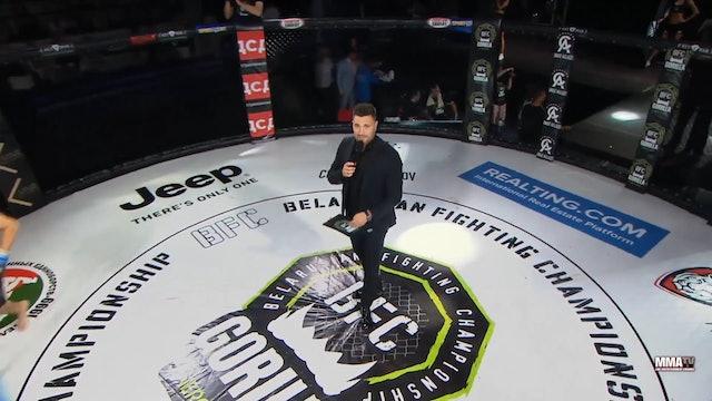 10 BFC 56 Shamil Gasanov vs Artem Luferchik Russian Commentary