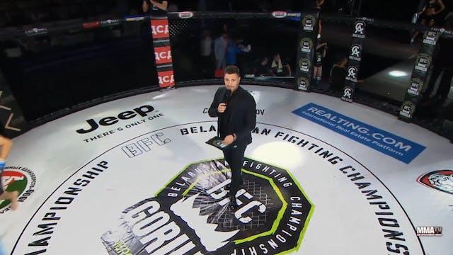 10 BFC 56 Shamil Gasanov vs Artem Luf...