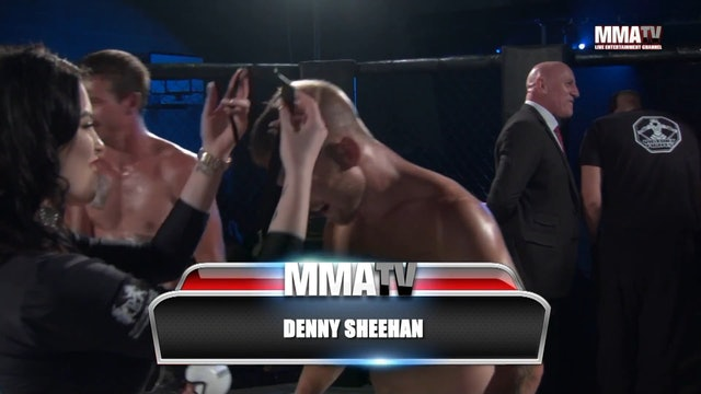Denny Sheehan vs. Nathan Phillpott at Victory Fights, Brighton Sussex