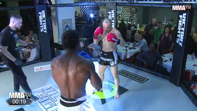 Devrim Kowalsky vs. Shakeel Blaine - Victory Fights, Brighton Sussex