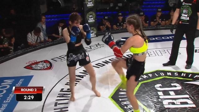 1 BFC 56  Svetlana Spetsian vs Ksenia Nikolaeva