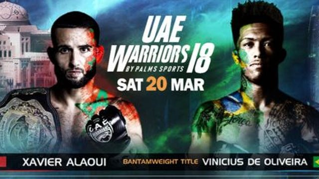UAE Warriors 18