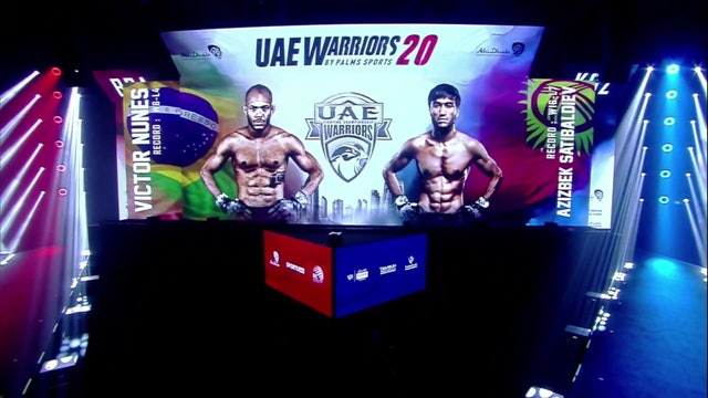 UAE Warriors 20 Undercard