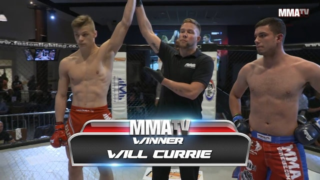 Jack Scott VS Will Currie Fusion 25