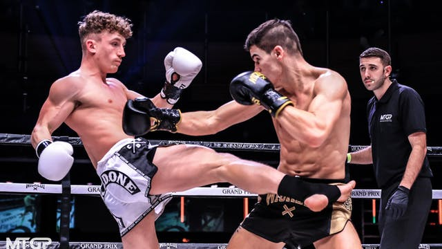 KGP 24: Raphael Arguello vs Ben Woolliss