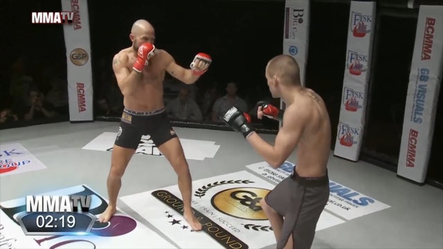 #BCMMA17 - Phillip Nygard vs Tor Inge Gloppen - 170lbs Amateur MMA Contest