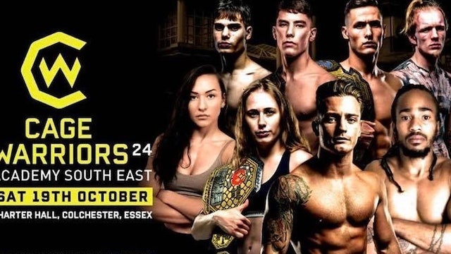Cage Warriors South East Academy 24