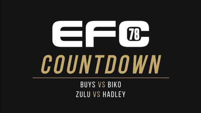 EFC 78: COUNTDOWN BUYS VS BIKO