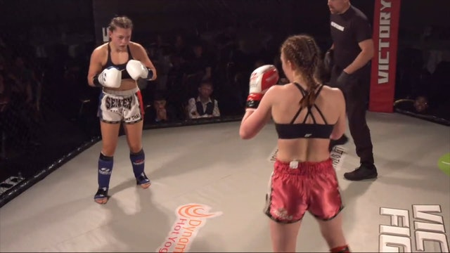 Victory Fights 4 Claudia Herrington v China Bajerski
