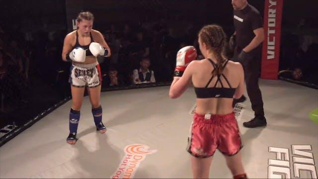 Victory Fights 4 Claudia Herrington v...