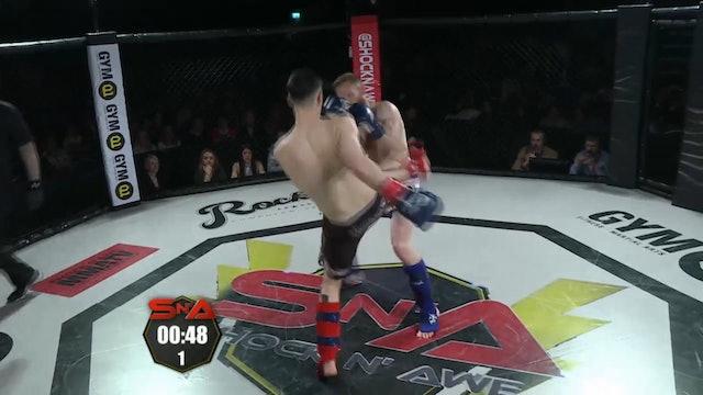 Shock n' Awe 22 Sean callaghan vs Charlie Trott K1