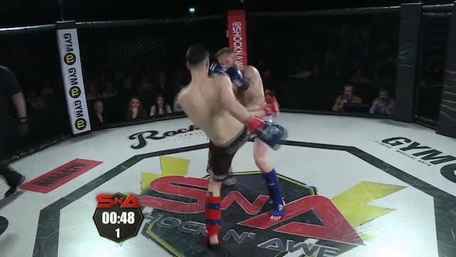 Shock n' Awe 22 Sean callaghan vs Cha...