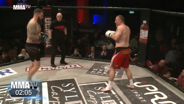 13 UCMMA 50 Andy Cunningham vs Mike Nune k1 Title Fight