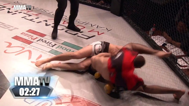 Cage Warriors Academy South East - Morotti vs Hindy
