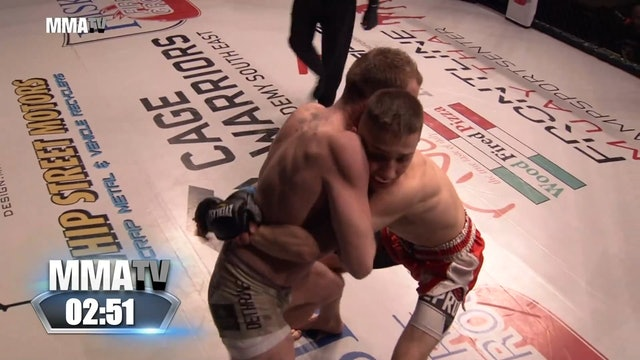 Cage Warriors Academy South East - Wrobel vs Wright