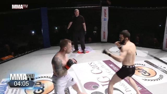 #BCMMA17 - Emrah Sonmez vs Ben Deller Smith - 155lbs Pro MMA Contest
