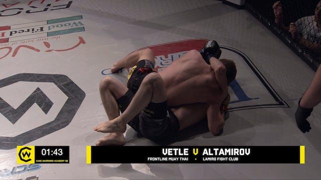VETLE VS ALTAMIROV