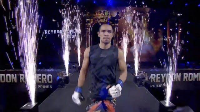 Alan Omer  vs Reydon Romero