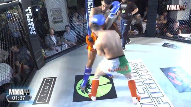 Adnan Bushy vs. Reon Wong - Victory F...