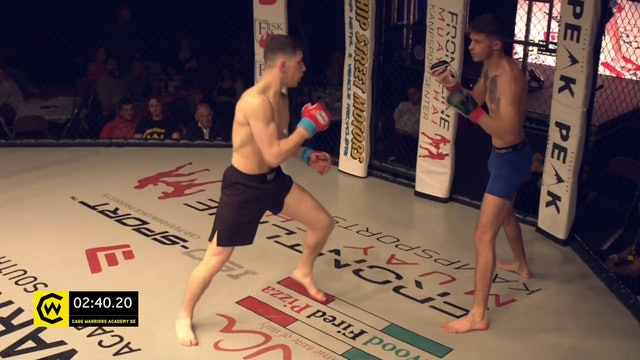 #CWSE23 - Djillali V Eglin - 135lbs Amateur MMA Title Contest
