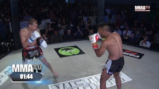 Aftab Miah vs Linas Meistebicius -Victory Fights 2