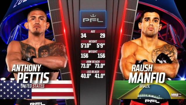 Anthony Pettis vs Raush Manfio pfl 6