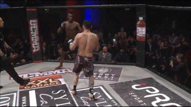 10 UCMMA 51 Harry Davies vs Dontel Fo...