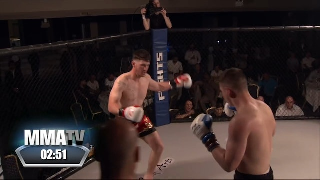 Victory Fights 4 George Davies v Rhys Brudenell