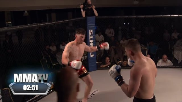 Victory Fights 4 George Davies v Rhys...