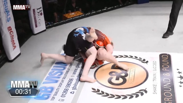 #BCMMA17 - Cory Mckenna vs Aleksandra Rola - 115lbs Amateur MMA Title Contest